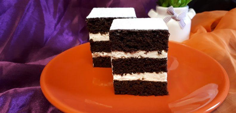 prajitura cu cacao si crema de lamaie-de post